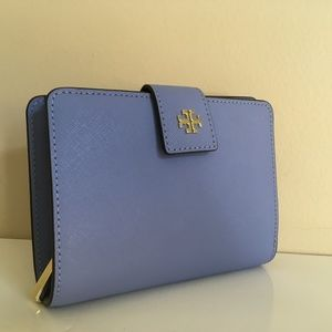 Tory Burch NWT EMERSON FRENCH FOLD WALLET